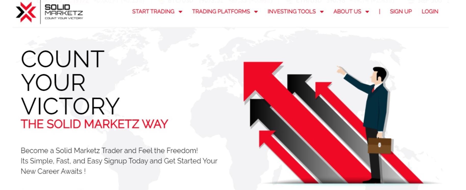 Solid Marketz website