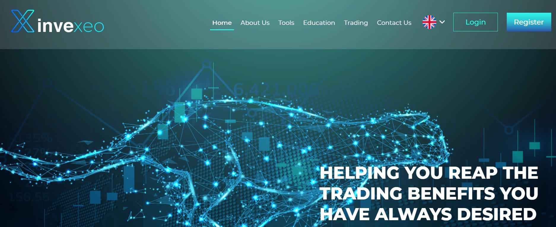 Invexeo website
